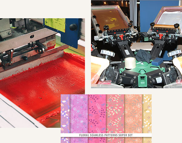 Our flat screen printing process and products